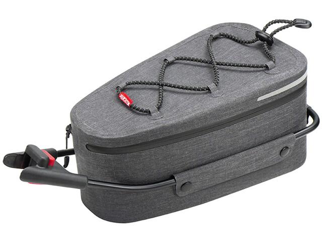 KlickFix Contour Waterproof Satteltasche grey